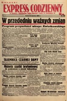 Kielecki Express Codzienny. 1938, nr120