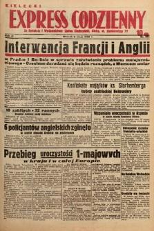 Kielecki Express Codzienny. 1938, nr124