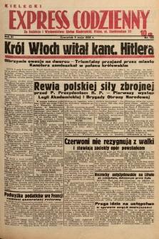 Kielecki Express Codzienny. 1938, nr126