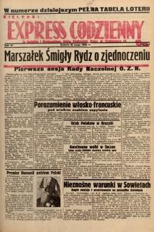 Kielecki Express Codzienny. 1938, nr142