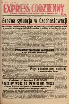 Kielecki Express Codzienny. 1938, nr145