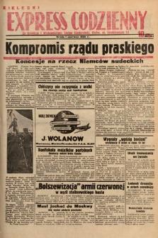 Kielecki Express Codzienny. 1938, nr154