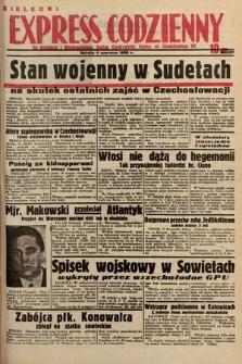 Kielecki Express Codzienny. 1938, nr157