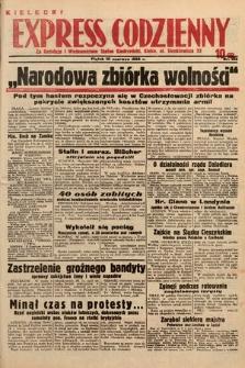 Kielecki Express Codzienny. 1938, nr162