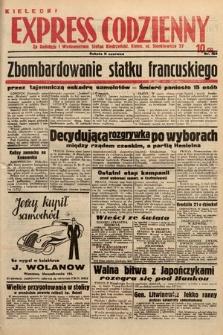 Kielecki Express Codzienny. 1938, nr163
