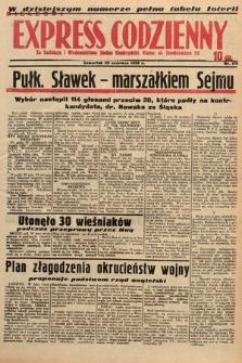 Kielecki Express Codzienny. 1938, nr175