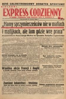 Kielecki Express Codzienny. 1938, nr179