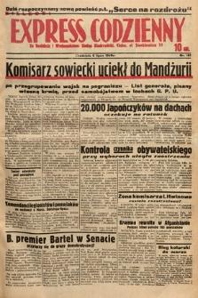 Kielecki Express Codzienny. 1938, nr185