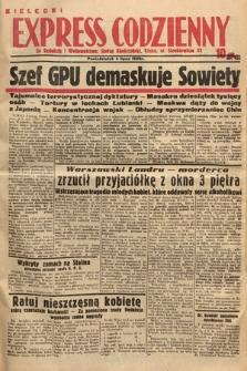 Kielecki Express Codzienny. 1938, nr186