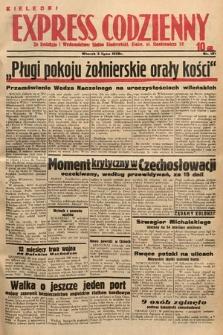 Kielecki Express Codzienny. 1938, nr187