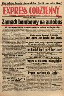 Kielecki Express Codzienny. 1938, nr192