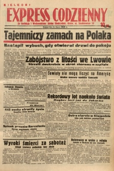 Kielecki Express Codzienny. 1938, nr196