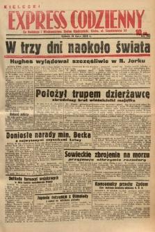 Kielecki Express Codzienny. 1938, nr198