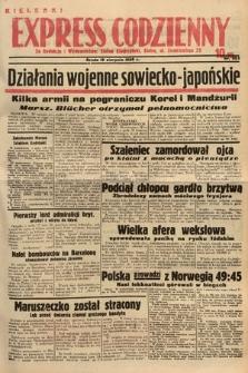 Kielecki Express Codzienny. 1938, nr223