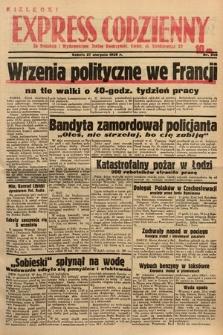 Kielecki Express Codzienny. 1938, nr240