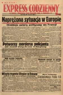 Kielecki Express Codzienny. 1938, nr241