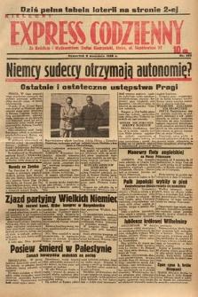 Kielecki Express Codzienny. 1938, nr252