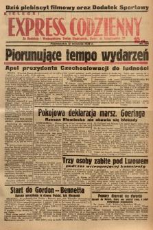 Kielecki Express Codzienny. 1938, nr256