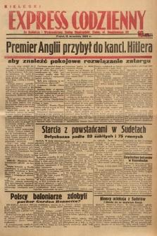 Kielecki Express Codzienny. 1938, nr260