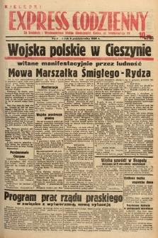 Kielecki Express Codzienny. 1938, nr277