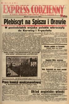Kielecki Express Codzienny. 1938, nr278