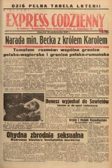 Kielecki Express Codzienny. 1938, nr294