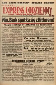 Kielecki Express Codzienny. 1938, nr300