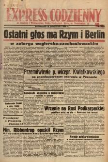 Kielecki Express Codzienny. 1938, nr305