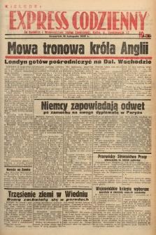 Kielecki Express Codzienny. 1938, nr315
