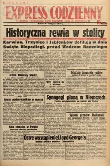 Kielecki Express Codzienny. 1938, nr317