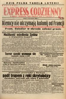 Kielecki Express Codzienny. 1938, nr323
