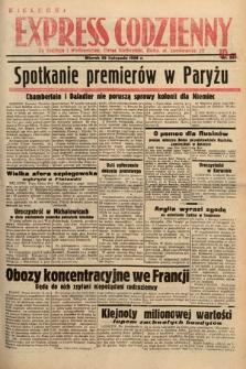 Kielecki Express Codzienny. 1938, nr327