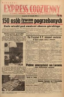 Kielecki Express Codzienny. 1938, nr329