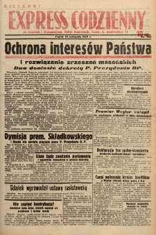 Kielecki Express Codzienny. 1938, nr330