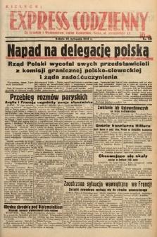 Kielecki Express Codzienny. 1938, nr331