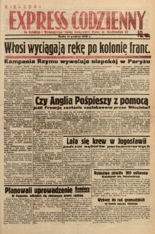 Kielecki Express Codzienny. 1938, nr349