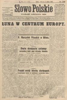 Słowo Polskie. 1933, nr63