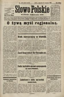 Słowo Polskie. 1933, nr239