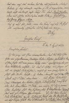 Listy Karla H. G. von Meusebacha do Augusta Heinricha Hoffmann von Fallersleben