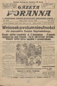 Gazeta Poranna : ilustrowany dziennik informacyjny wschodnich kresów. 1930, nr9087
