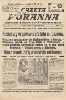 Gazeta Poranna : ilustrowany dziennik informacyjny wschodnich kresów. 1930, nr9114