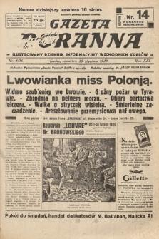 Gazeta Poranna : ilustrowany dziennik informacyjny wschodnich kresów. 1930, nr9115