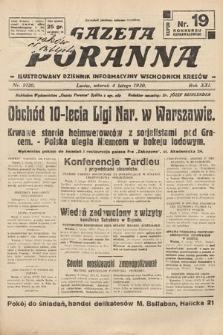 Gazeta Poranna : ilustrowany dziennik informacyjny wschodnich kresów. 1930, nr9120