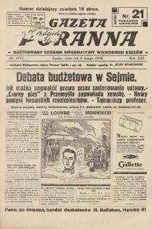 Gazeta Poranna : ilustrowany dziennik informacyjny wschodnich kresów. 1930, nr9122