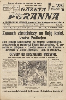 Gazeta Poranna : ilustrowany dziennik informacyjny wschodnich kresów. 1930, nr9124