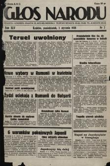 Głos Narodu. 1938, nr2