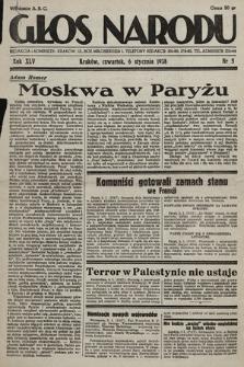 Głos Narodu. 1938, nr5