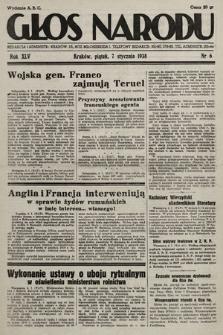 Głos Narodu. 1938, nr6