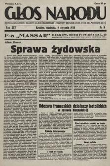 Głos Narodu. 1938, nr8