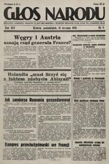 Głos Narodu. 1938, nr9